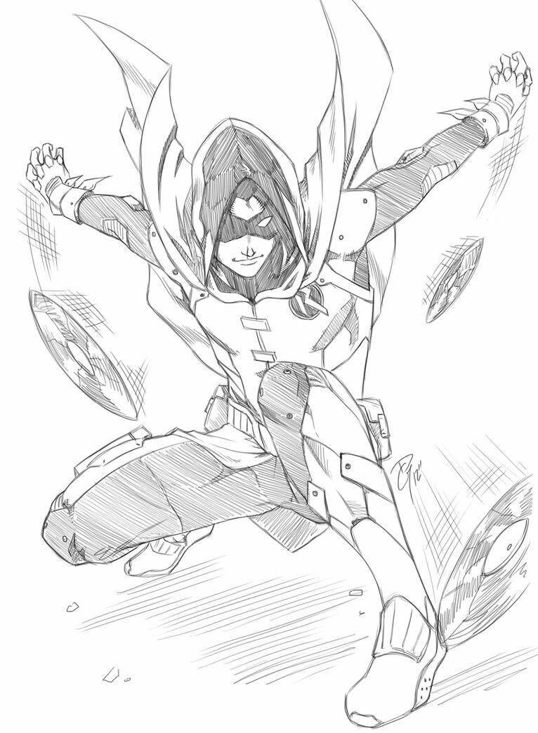 Sketch Of Damian Wayne Robin Superhero Art Batman Art Cartoon Character Tattoos