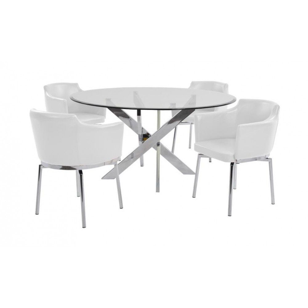 The Dusty Dining Table Set Is Perfect For Adding A Touch Of Sophistication And Elegance To Your Room