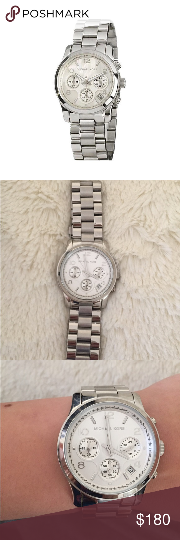 Michael Kors Women's Watch MK5305 Chronograph. New. Worn 2/3 times Accessories Watches