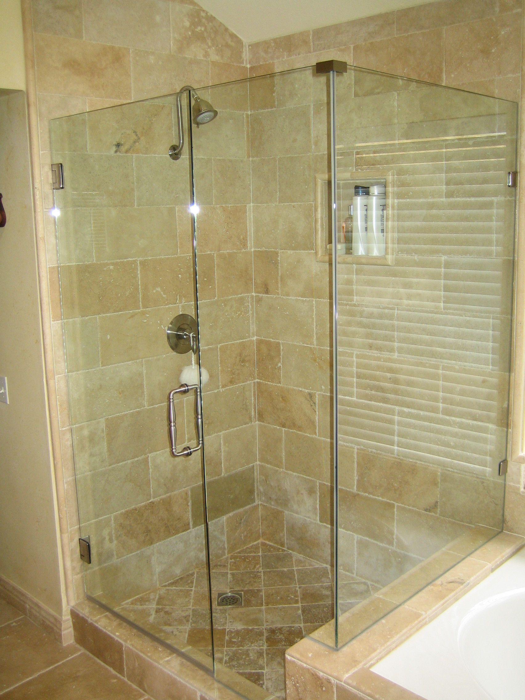Glas, Rahmenlose Dusche Türen für Ihr Bad Renovieren