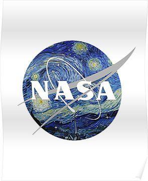 'Nasa Starlight' Poster by TETRISMANIA