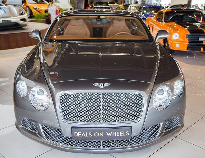 2013 Bentley Continental Gt Speed W12 Mulliner Al Habtoor Car With