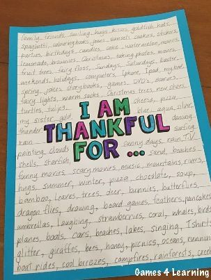 bie i am thankful for writing sheets makes a great  thanksgiving activity i am thankful for thanksgiving writing prompts