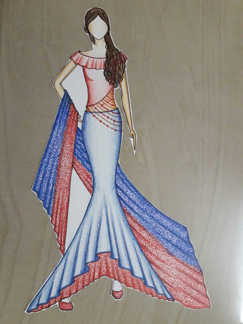 Pin By Pooja Agrawal On Fashion Illustration Group Fashion Illustration Dresses Fashion Design Sketches Illustration Fashion Design