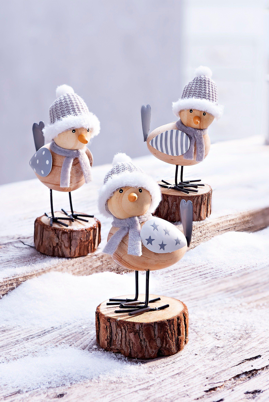 Dekofiguren Wintervogel 3er Set Jetzt Bei Weltbild De Bestellen Fensterdeko Weihnachten Basteln Weihnachtsbasteln Weihnachtszeit Basteln