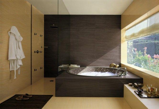 Black cream bathroom scheme tiles | diseño de interiores | Pinterest on black and cream bedroom designs, trellis bathroom designs, small bathroom designs, black and cream living room designs,