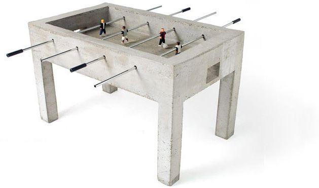 beton tisch kicker modern office design pinterest concrete concrete table und concrete. Black Bedroom Furniture Sets. Home Design Ideas