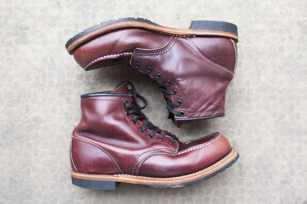 Redwing ベックマン9010 経年変化記録(1)〜まずはブーツの洗濯〜 Hdrブログ:marsh Of