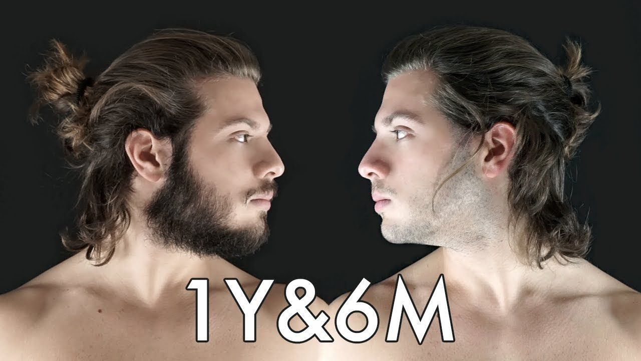 Hair Growth Time Lapse 1 Year 6 Months Bearded Or Shaved Watch These Videos On Youtube It Will Help Explai Hair Growth 6 Month Hair Growth Hair Loss Men