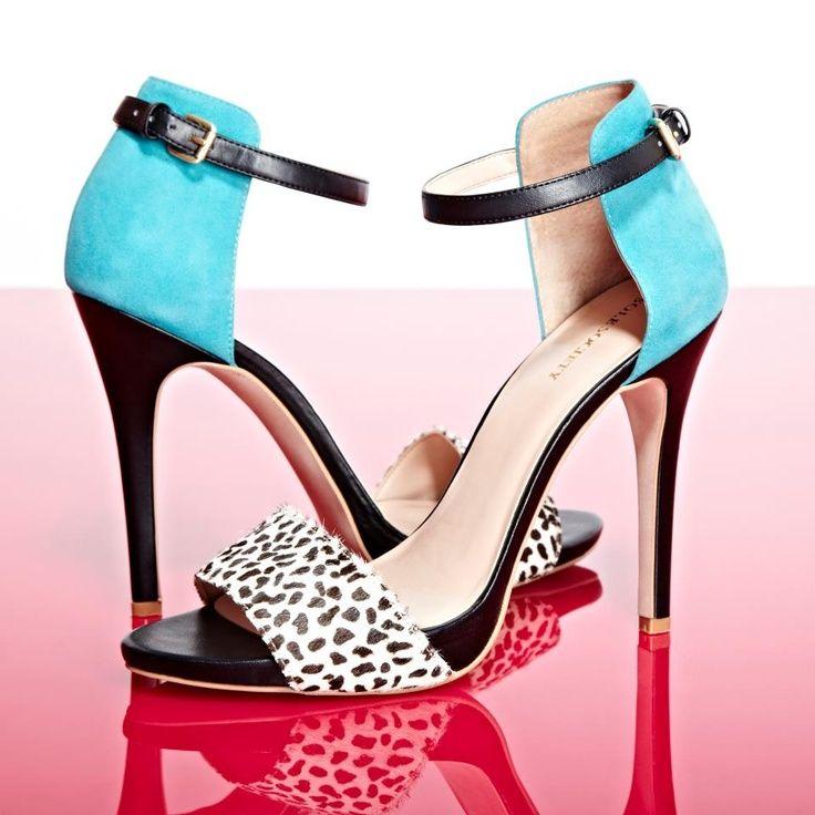 Turquoise and Blk & White Cheetah Print - So #Cute ♥