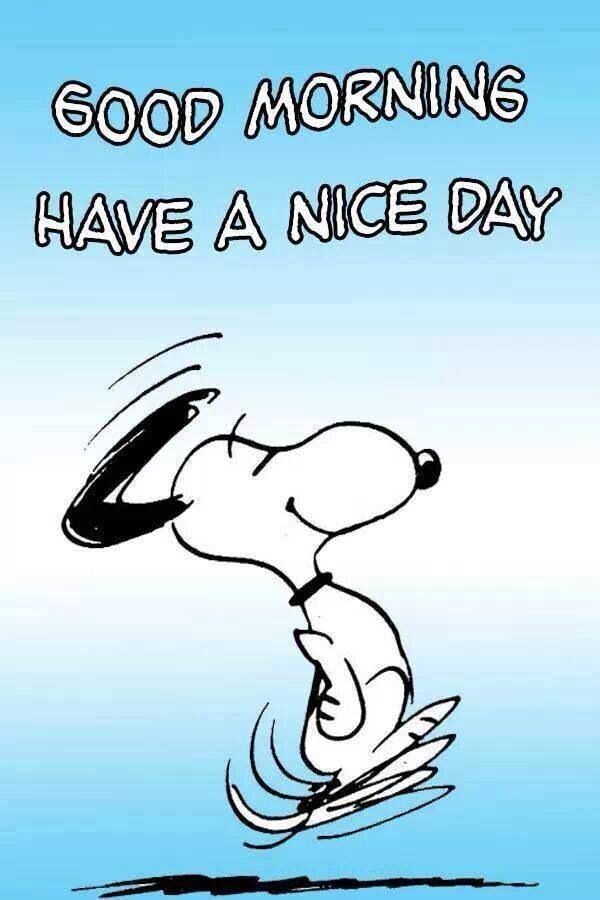 Pin by Evelyn Switzer on Good Morning | Snoopy, Good morning