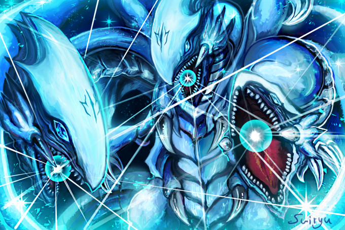 Blue Eyes Ultimate Dragon Who May Or Not Actually Be Better Than Neo Blue Eyes Ultimate Dragon Yu Gi Oh Yugioh Ultimate Dragon White Dragon