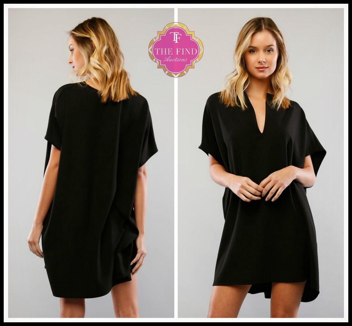 Gemma Everyday Black Dress