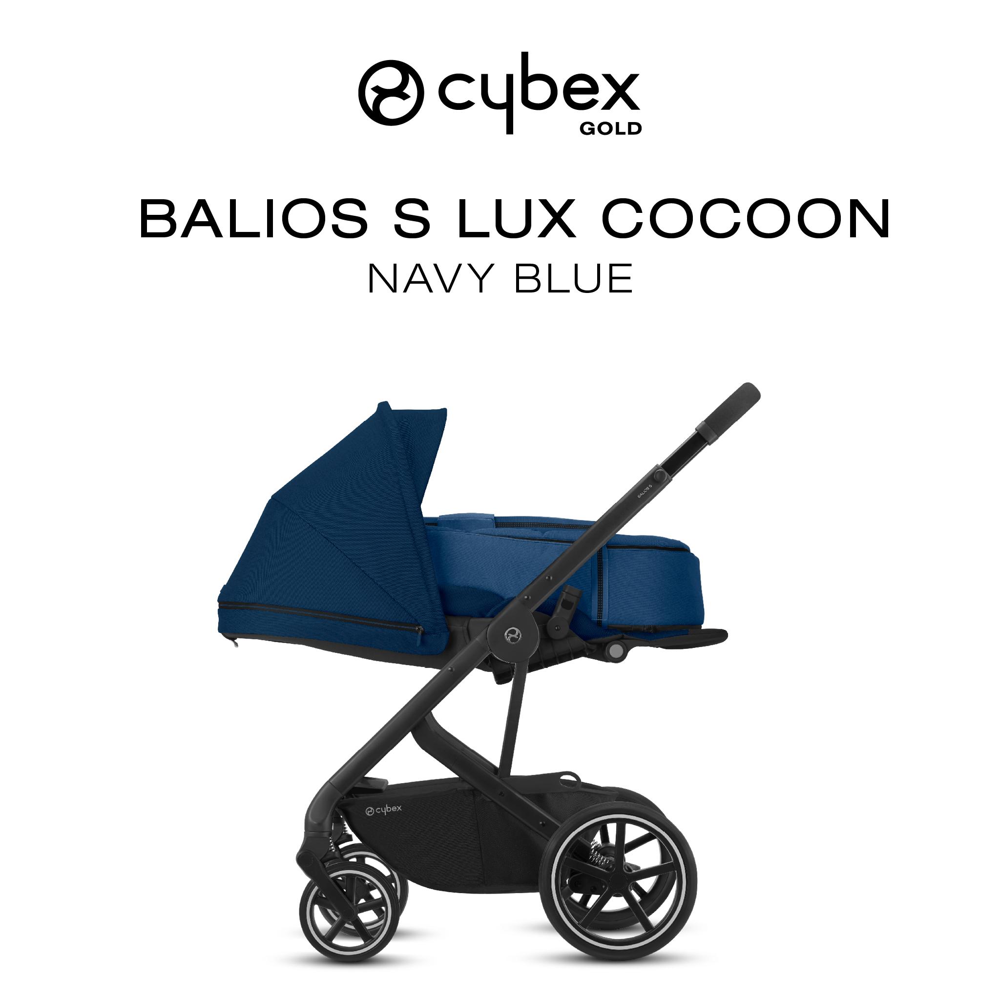 Balios S Lux Navy Blue Cybex, Baby car seats, Stroller