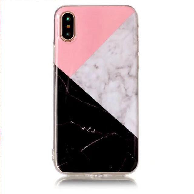 coque iphone x patchwork