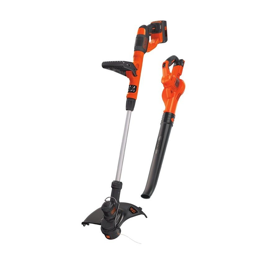 Black Amp Decker 2 Piece Cordless Power Equipment Combo Kit