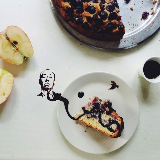 For Giulia Bernardelli, Spilling Food is not an Accident, it's Art.