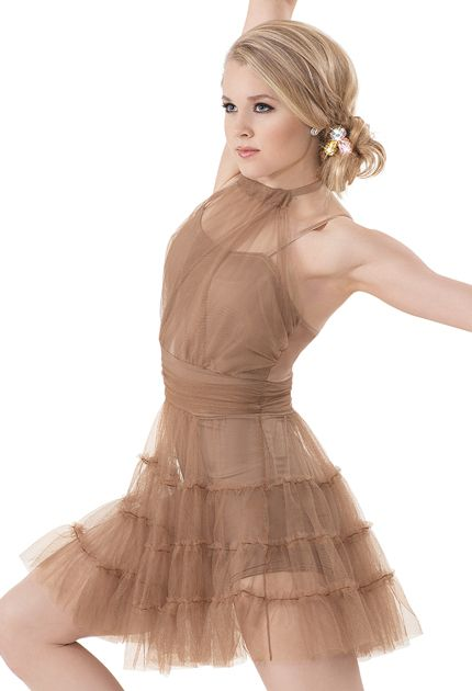 Brown Dance Dresses