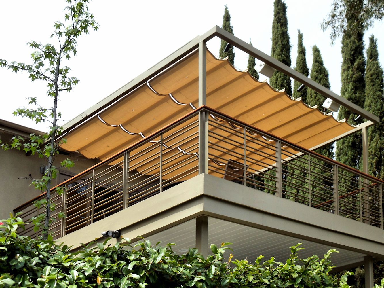 Slide Wire Cable Awnings | Slide Wire Canopy Superior Awning Southern California