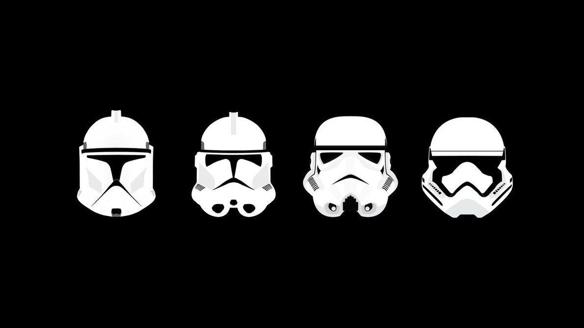 Helmets By Samuelkowal906 Star Wars Wallpaper Star Wars Trooper Star Wars Tattoo
