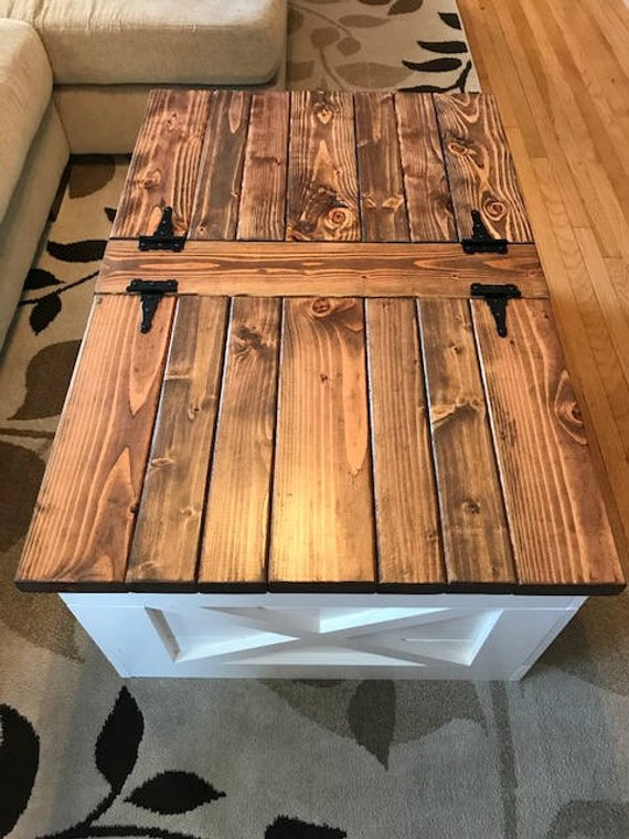 Farmhouse Storage Coffee Table Free Shipping Coffee Table With