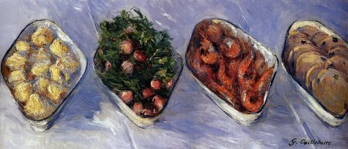 Hors d'Oeuvre, Gustave Caillebotte - #Art #LoveArt http://wp.me/p6qjkV-8Pj