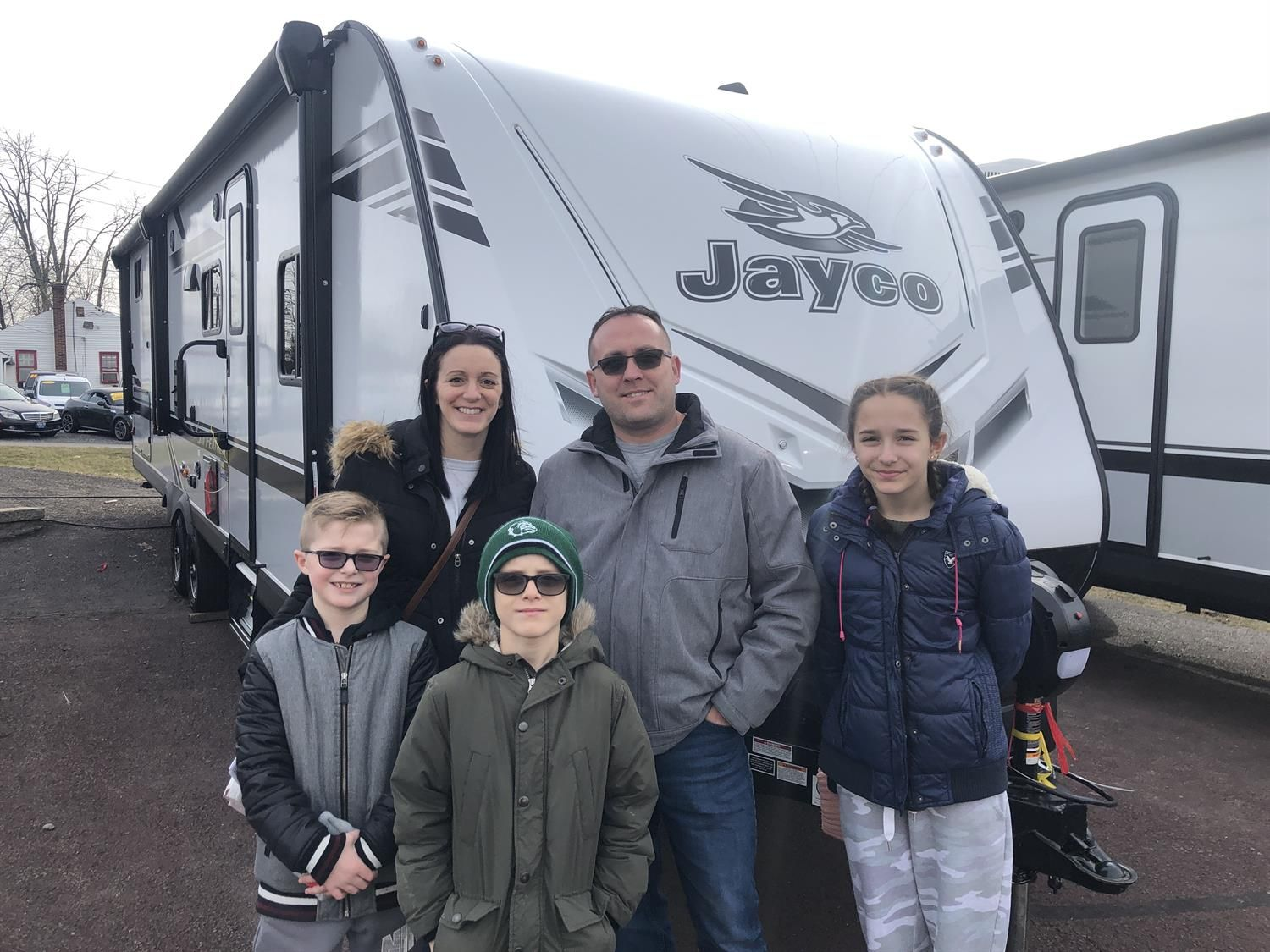 Thank You Tanya And Martin For The Opportunity To Help You With Your New 2006 Jayco Jay Flight All The Best Fretz Rv And Fretz Rv In 2020 Jayco Rv