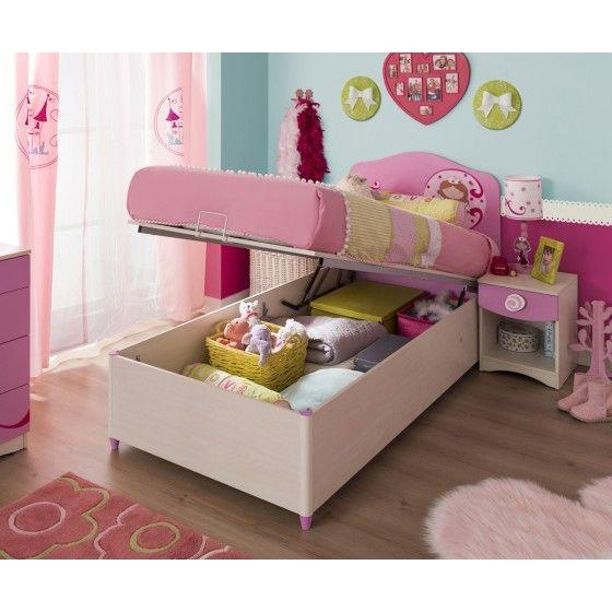 Cama Canapé infantil juvenil Princesa Cilek | muebles | Pinterest ...