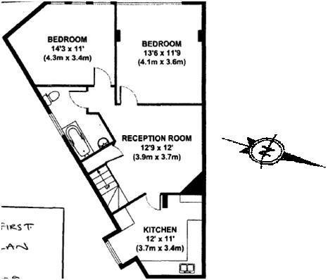 triangle shape plan & geomancy | Planos de apartamentos ...