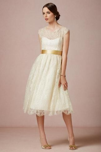 BHLDN Queen Anne Dress
