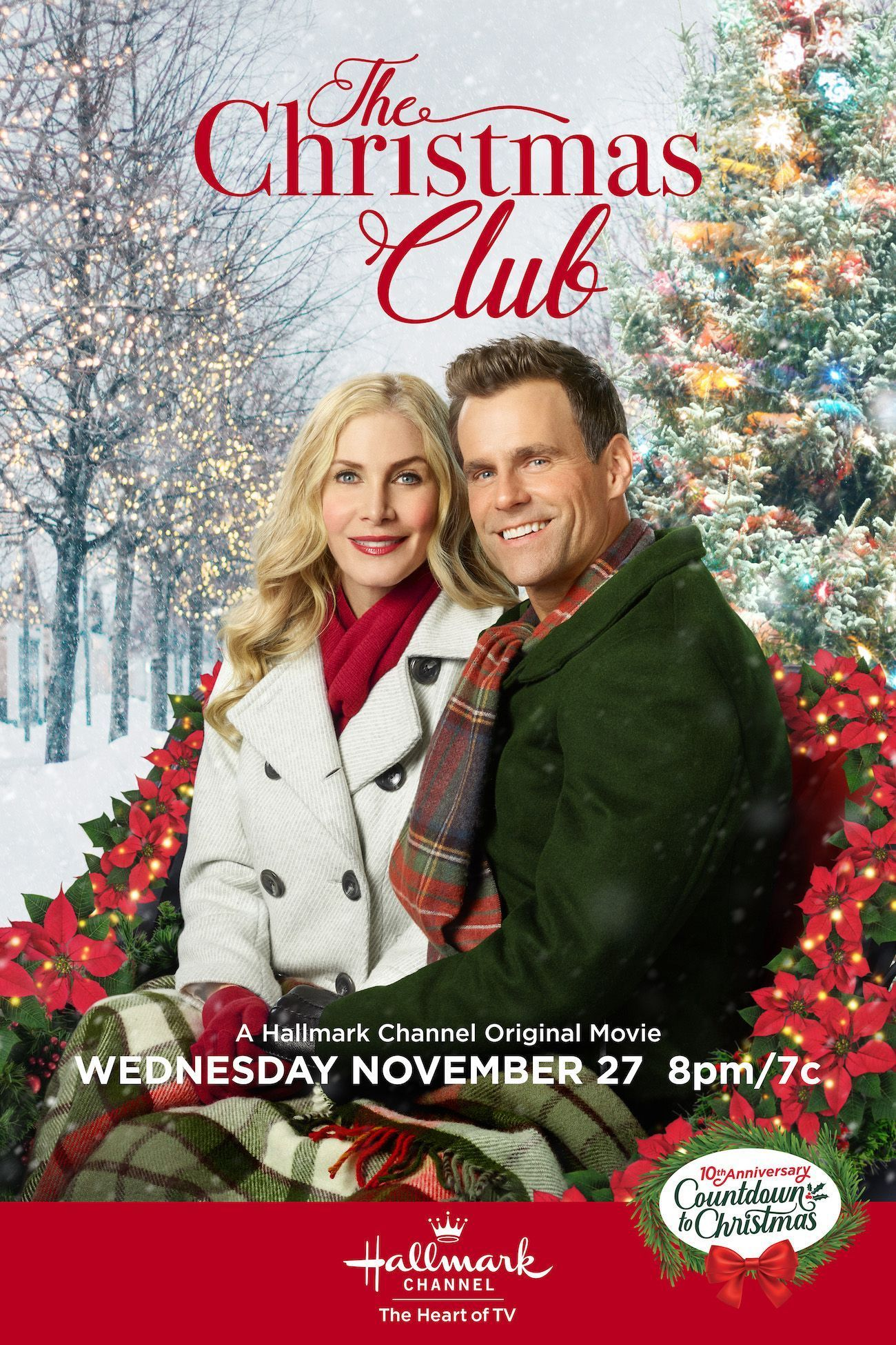 Cameron Mathison And Elizabeth Mitchell Star In The Christmas Club Premieri Hallmark Channel Christmas Movies Christmas Movies On Tv Hallmark Movies Romance