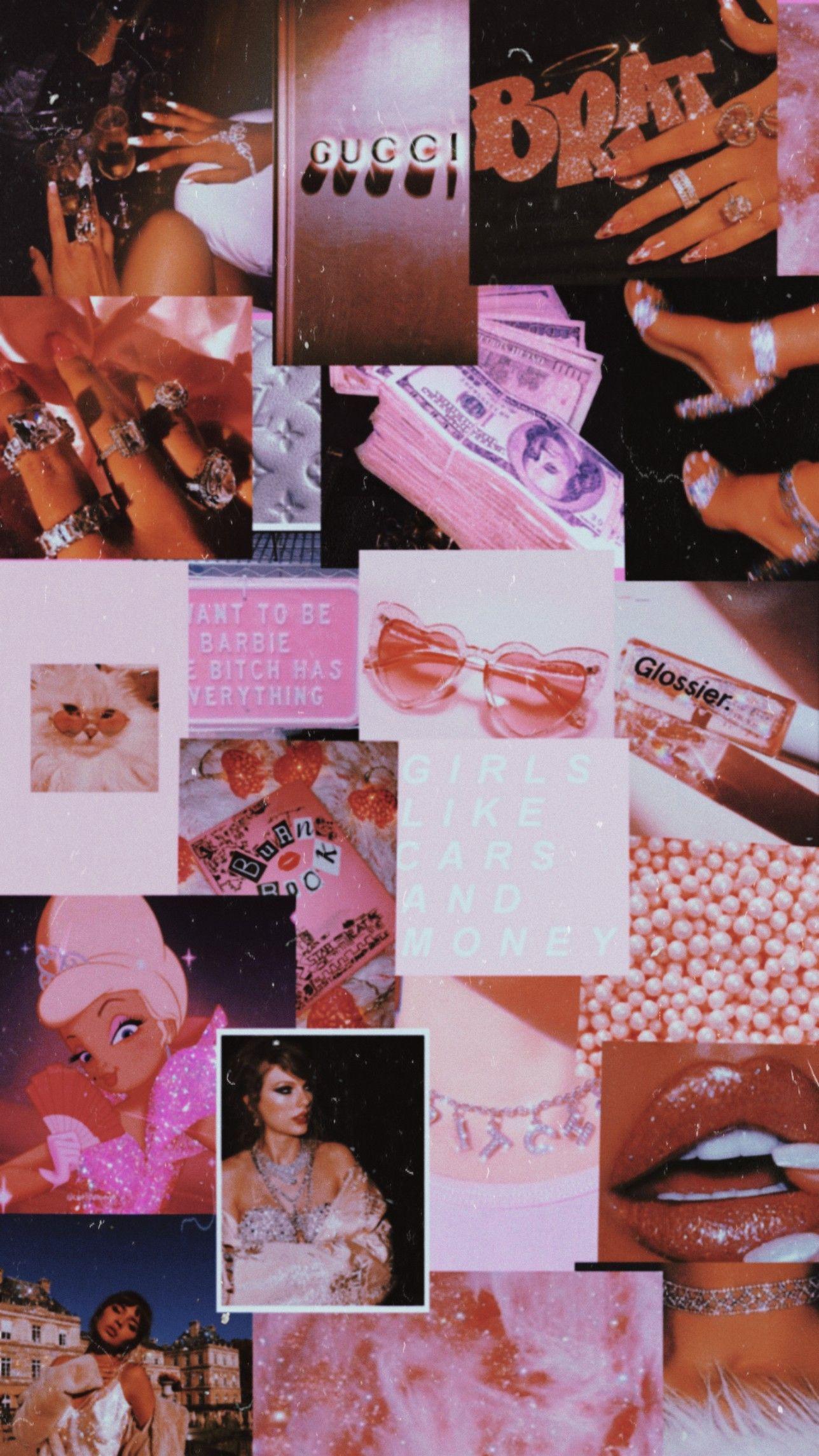 Rich girl aesthetic pink aesthetic wallpaper in 2020