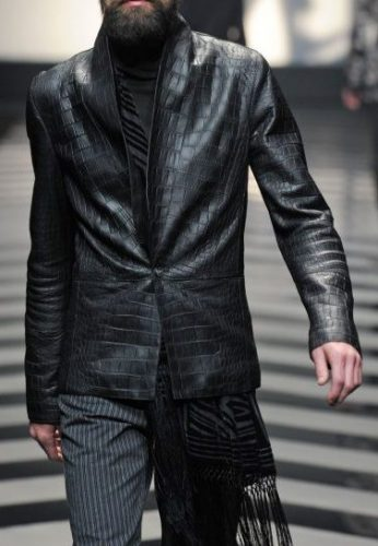 Roberto Cavalli Italian Fashion Designers Leather Jacket Couture Fashion