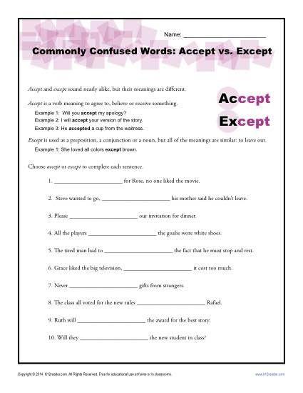 Spelling Practice | Worksheet | Education.com