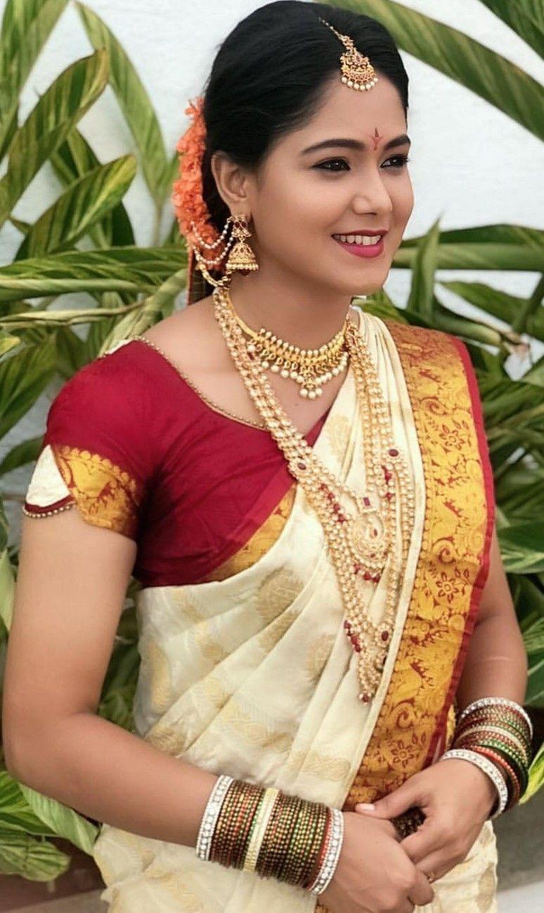 Pin by ALN Desikar on Brides   Bhavana actress, Saree