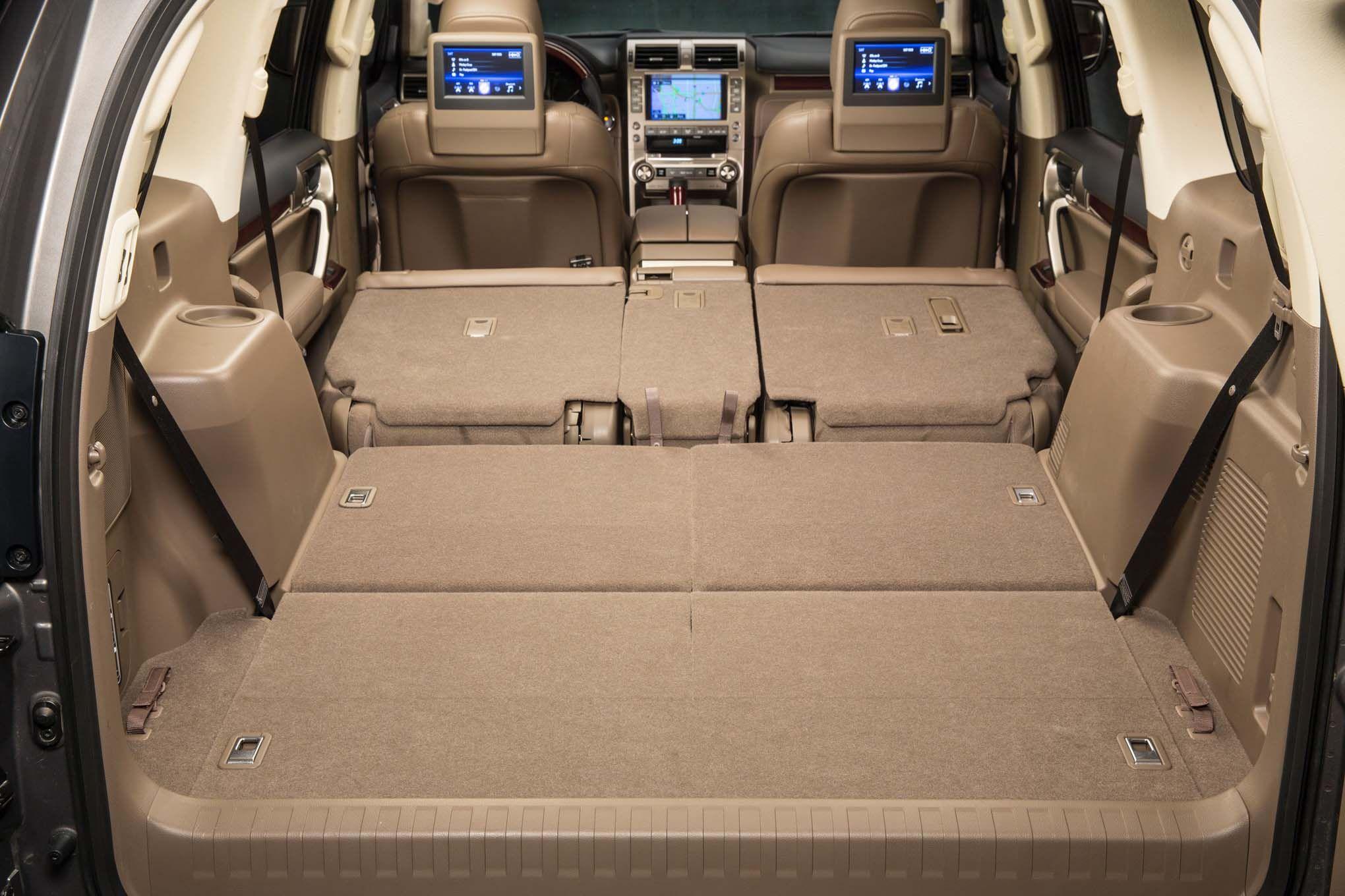 2019 lexus gx460 cargo space