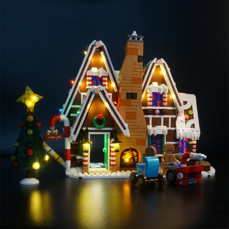Led Light Kit For Lego 10267 Creator Gingerbread House Model Building Kit Lego Lego Gingerbread House Led Light Kits Gingerbread House Kits