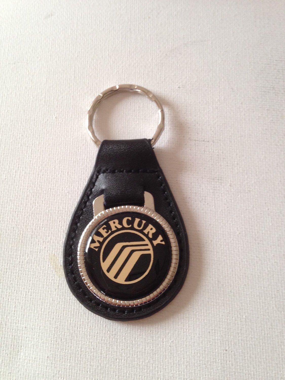 Mercury keychain keyring leather Personalised keychain.