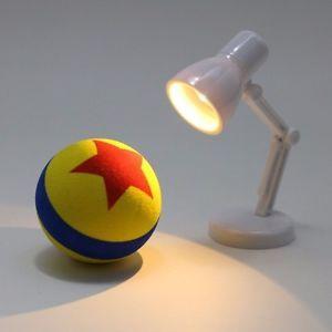 Mini Led Lamp And Antena Ball Looks Like A Luxo Jr And Pixar Ball Pixar Lamp Lamp Pixar