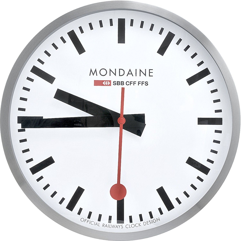 Mondaine A995CLOCK16SBB Wall Clock Large