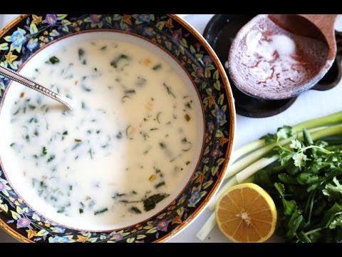 Armenian Yogurt Soup Spas Recipe - Սպաս - Суп Спас - Heghineh ...
