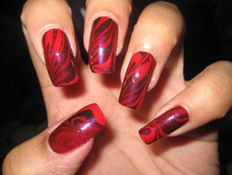 Cute Red Nails Red Nails And Red Nail Art