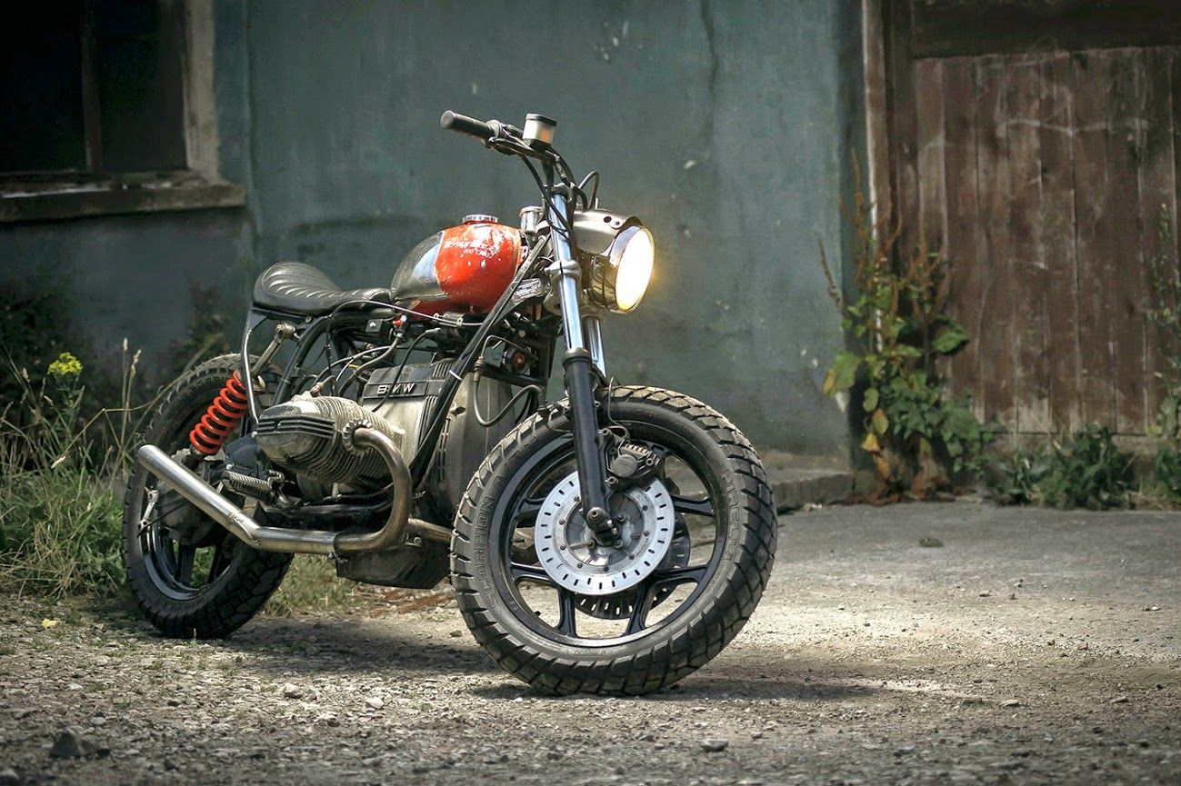 BMW R80 'GUNSHOT' - DUST MOTORCYCLES - THE BIKE SHED #StreetTracker #motorcycles #motos | caferacerpasion.com