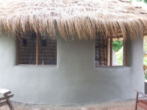 Picture of Cement Plaster on Exterior Walls