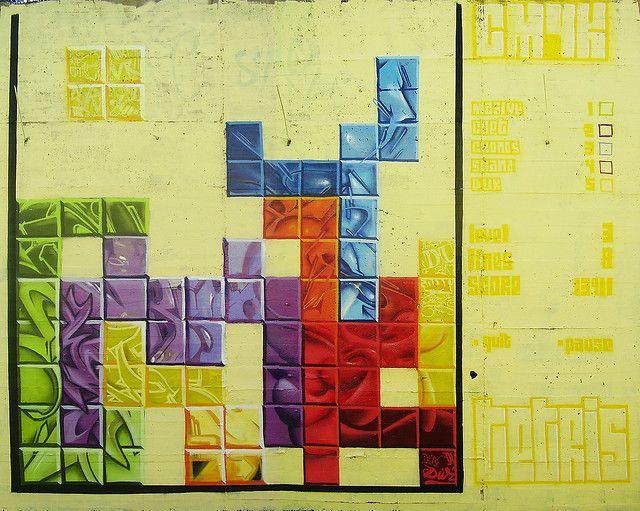 tetris - cmyk