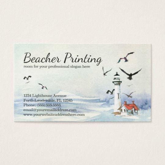 Lighthouse business cards nautical coastal beach business cards lighthouse business cards nautical coastal beach colourmoves