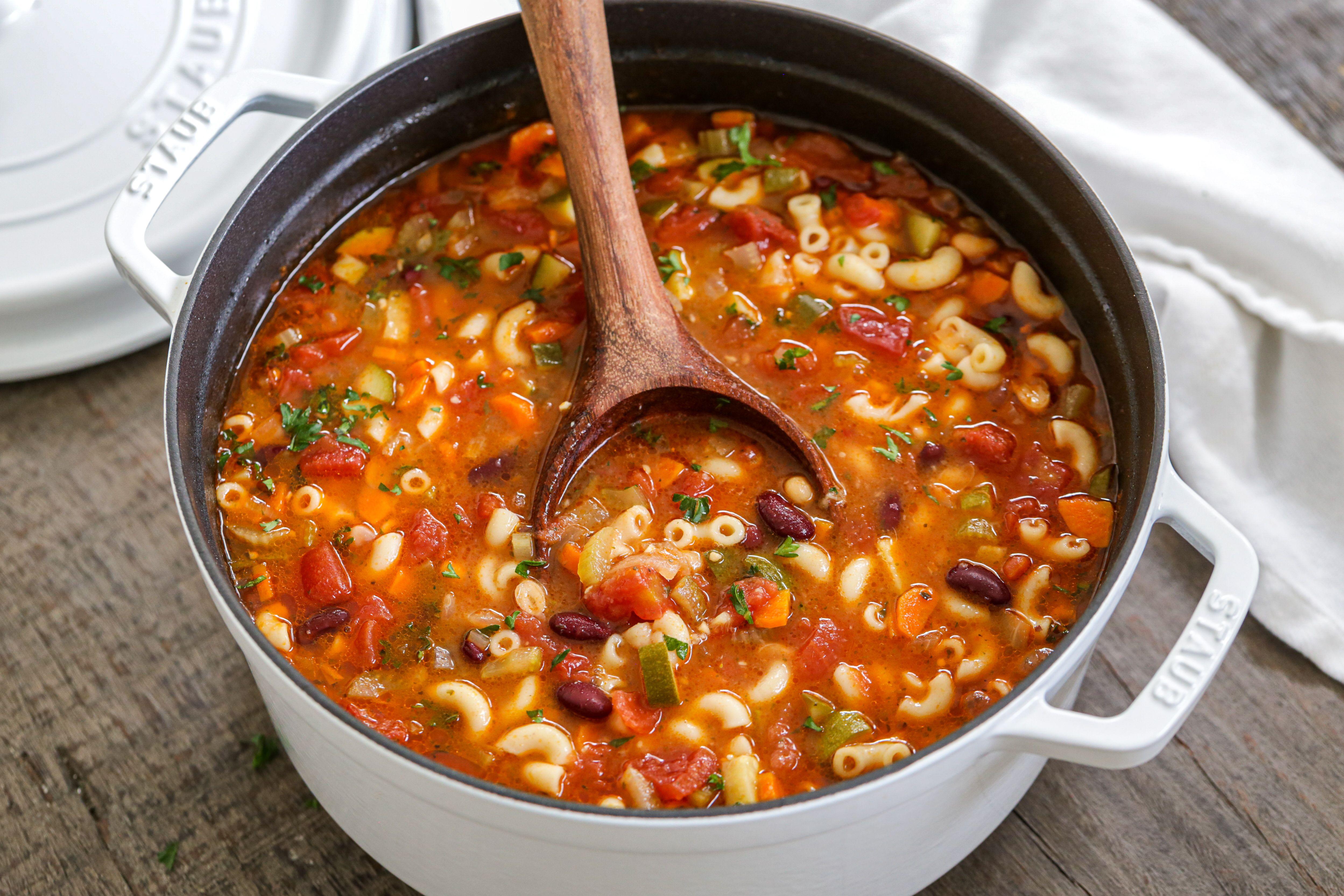 Minestrone Soup (Olive Garden Copycat) in 2020