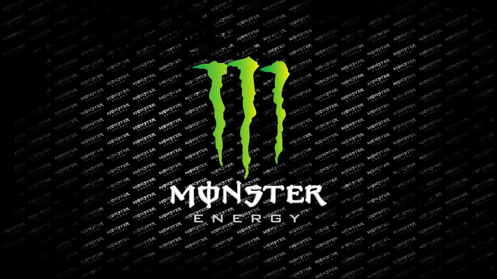 Monster Energy Logo Wallpaper for iPad