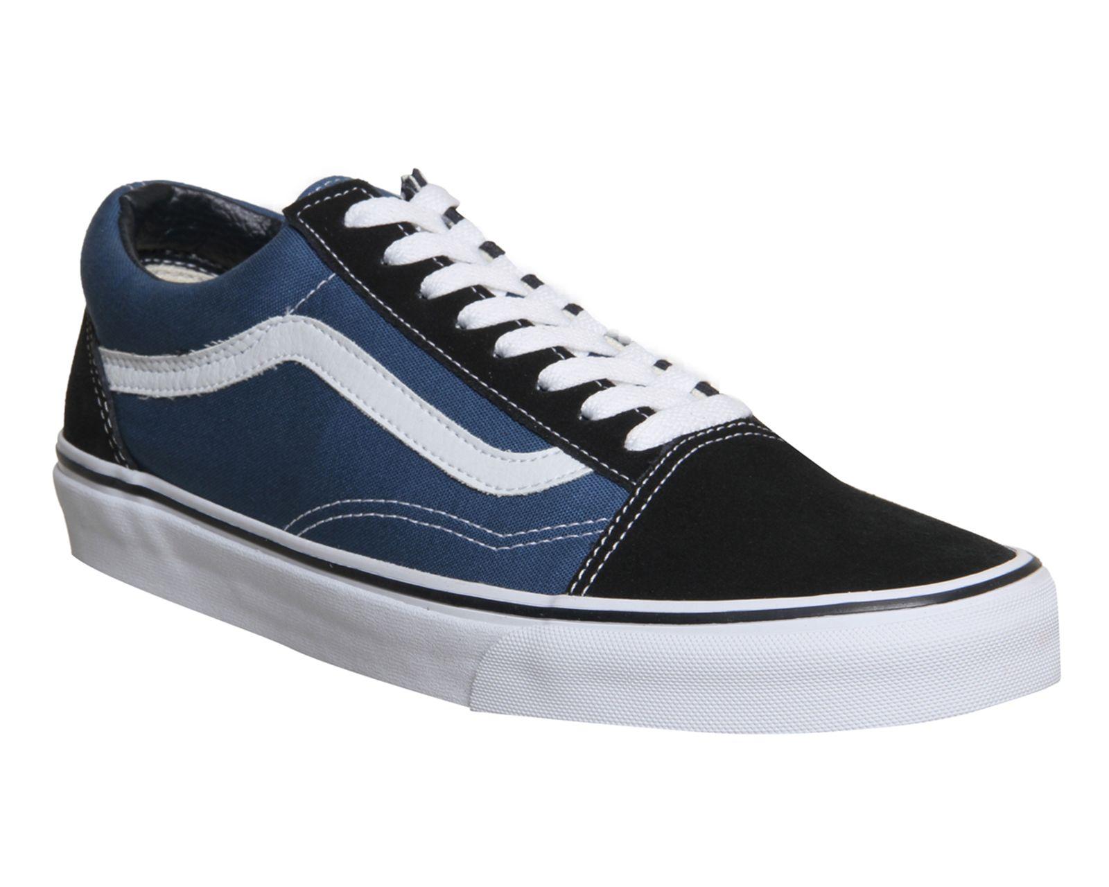 Zapatos Vans JEANS vulcanizado de color azul (36) DfzjW