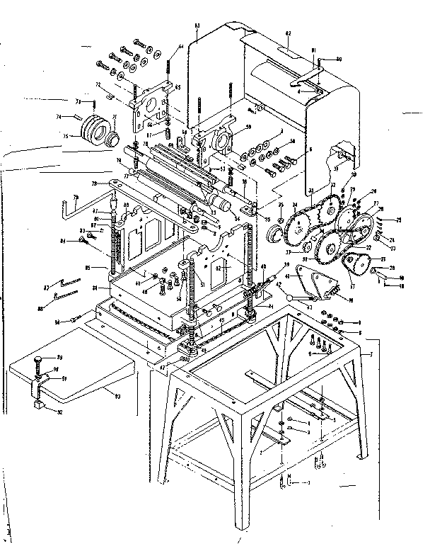 UNIT PARTS Diagram & Parts List for Model 3069123